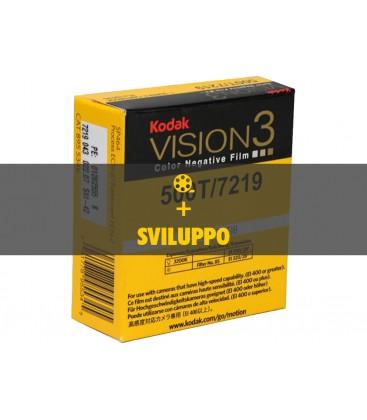 Negativo Colore Kodak Vision3 500T, 7218 + preparazione al telecinema