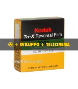 Tri-x 200 asa + sviluppo + telecinema in HD